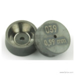 Orifice disc 039 0,99 mm front and backside